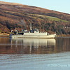 Sandown class Minesweeper M104 HMS Walney in Gareloch