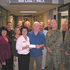 Nice Guys President Craig Meier and the Nice Guys Board presents The San Diego Armed Services YMCA at Balboa Naval Medical Center a check for $10,000 for the new C-5 Center