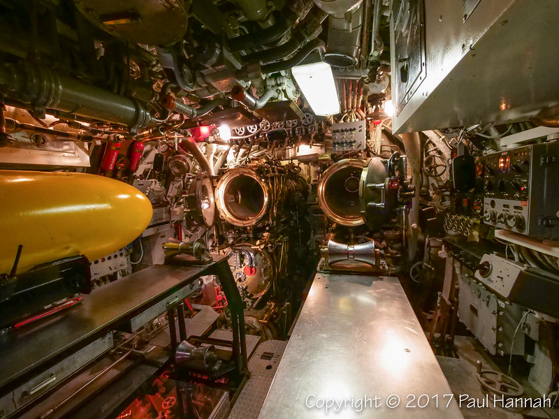 USS Requin SS-481 Tench Class - Forward Torpedo Room