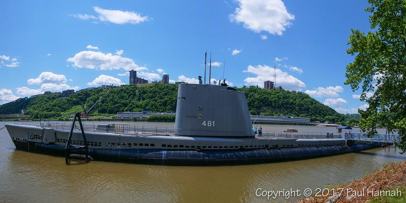 USS Requin SS-481 - Tench Class