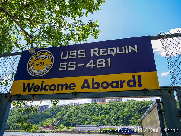 USS Requin SS-481 - Welcome Aboard