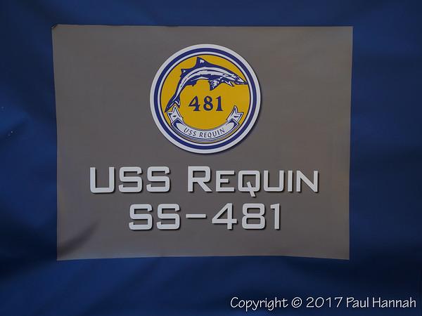 USS Requin SS-481 Banner