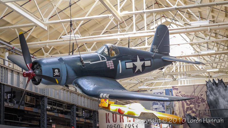 "US Navy Museum Goodyear FG-1D Corsair (Bu 92013) ""Big Hog"""