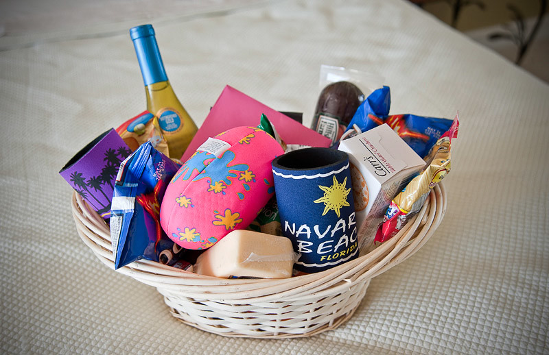 The Welcome Basket!