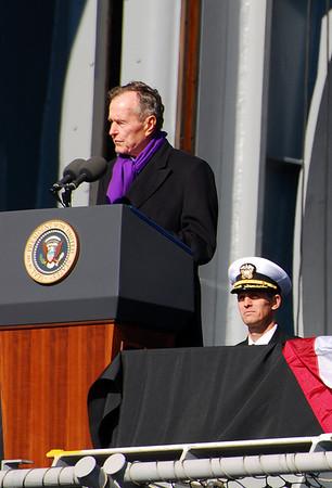 USS George H W Bush Commissioning