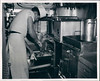 Pearl Harbor Naval Station kitchen - 1950's Photo.