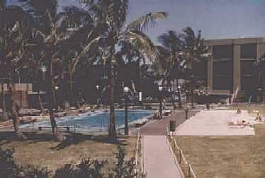Pearl Harbor Sub Base Pool In Front of Barracks