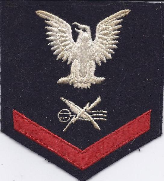 Teleman Third Class Petty Officer patch.