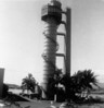 Escape Training Tower Sub Base Pearl Harbor - Note: - Sailor Carrying Seabag Midway Down Steps of Tower CINCPACFLT.