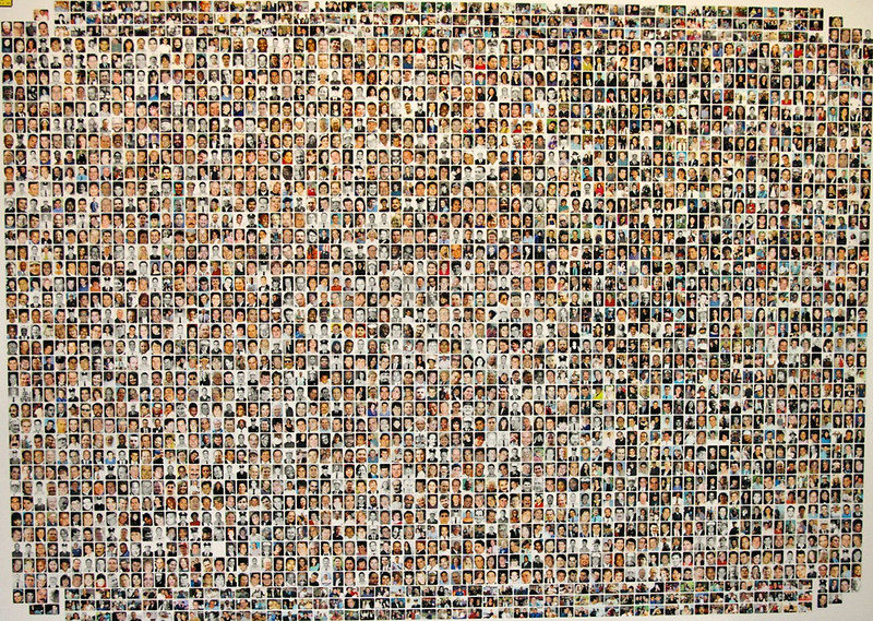 I've included the attacks on The United States of America by Al Qaeda of the USS COLE DDG-67 in 2000, and of the 1993 and 2001 attacks on the World Trade Center, Pentagon and Shanksville PA with the attack on Pearl Harbor by the Japanese as the major attacks to ALWAYS REMEMBER AND NEVER FORGET. <br /> <br /> God Bless America and all of those who died defending and protecting her, and to all of those who cherished and loved her!<br /> <br /> SEPTEMBER 11, 2001 - WE WILL ALWAYS REMEMBER AND NEVER FORGET!<br /> <br /> (11)Exhibit #P200336 from the United States v. Zacarias Moussaoui Criminal trial No. 01-455-A - A collage of photographs of almost 3,000 victims, nearly all of those who were killed during the terrorist attacks on September 11, 2001 (missing are 92 of the victims and all of the terrorists). (USDOJ) #