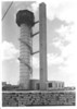 "Sub Base Pearl Harbor Escape Training Tower - 1933 Photo.<br /> <br /> ""710547     Sub Base, Pearl Harbor, T.H. - 8-21-33.  Submarie Escape Training Tank with Machinery House const. under Contl. NOy-1168, completed 3-23-32.  Elevator in center const. under Cont NOy-1538, completed 12-23-32.  Dressing & Examing Rooms at right contst. by District Force, completed 1933""."