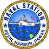"""NAVAL STATION Pearl Harbor, HI Emblem.<br /> <br /> <br /> Naval Station Pearl Harbor, Hawaii<br /> Known to native Hawaiians as Wai Momi, meaning """"water of pearl,"""" Pearl Harbor was believed to be the home of the shark goddess Ka'ahupahau and her brother, Kahi'uka. Pearl Harbor is more than a mere port or naval station. It is a workplace, a naval base, a home and a graveyard. To many Americans, Pearl Harbor is the ultimate symbol of treachery and our nation's official entry into World War II. The harbor's history is much longer and richer, however, stretching back several hundred years. Although recognized as a strategic port and surveyed by European explorers almost 200 years ago, it eventually took over a century to convert a native fishery on the island of Oahu into one of the most strategic naval ports in the world.<br /> <br /> <br /> HISTORY:   <br /> The Pearl Harbor Naval Station, across Quarry Loch, was authorized in 1908. Dredging of the Pearl Harbor channel entrance began in 1910 and, on December 14, 1911, USS CALIFORNIA (CA 6) became the first warship to pass through the new channel into Pearl Harbor. Today, the Naval complex at Pearl Harbor serves as a major homeport and """"pit stop of the Pacific"""" for the submarines and surface ships of the U.S. and Allied Pacific fleets.<br /> <br /> Naval Station Pearl Harbor had its beginning in 1912 as a receiving station located at Hospital Point. In 1940, the receiving station moved to the present Naval Station headquarters building. By 1954, ninety percent of the Navy's enlisted personnel enroute to and from duty in the middle and western Pacific were processed through the receiving station. In 1955, Naval Station Pearl Harbor was established.<br /> <br /> The first submarines arrived in Honolulu in August of 1914. Four F-class submarines operated from the old Naval Station, at Pier 5 in Honolulu Harbor. During World War II, the Pearl Harbor Submarine Base serviced submarines which made 488 war patrols from Hawaii"""