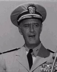 Fleet Admiral Felix Budwell Stump - CINCPAC/CINCPACFLT 1952 to 1958.<br /> <br /> Place of birth - Parkersburg, West Virginia <br /> Place of death - Bethesda Naval Hospital <br /> Allegiance - United States of America <br /> Service/branch - United States Navy <br /> Years of service - 1917-1958 <br /> Rank - Admiral <br /> Commands held - USS Lexington (CV-16)<br /> USS Enterprise (CV-6)<br /> United States Pacific Command  - CINCPAC/CINCPACFLT<br /> Battles/wars - World War II <br /> Awards Navy - Cross (2)<br /> <br /> Post-war - <br /> <br /> From December 1948 to 1951 Stump served as Commander of Naval Air Forces Atlantic Fleet during which time he was promoted to Vice Admiral. <br /> <br /> From March 1951 until June 1953, Stump served as Commander, United States Second Fleet.<br /> <br /> From July 10, 1953 to January 14, 1958, now promoted to full Admiral, he served as Commander US Pacific Command until his retirement, effective August 1, 1958. <br /> <br /> After his retirement, he was appointed to the position of Vice Chairman of Directors and Chief Executive Officer of Freedoms Foundation at Valley Forge, Pennsylvania.<br /> <br /> Stump died of cancer at Bethesda Naval Hospital in 1972.<br /> <br /> From TIME.COM - June 26, 1972 -<br /> <br /> Died. Admiral Felix Stump, 77, former commander of the Pacific Fleet; of cancer; in Bethesda, Md. A brusque, no-nonsense Annapolis man, Stump was skipper of a seaplane tender at the start of World War II. He was soon given a carrier command and then led the U.S. Navy carrier task force during the battle of Leyte Gulf. As chief of the Pacific Fleet (1953-58), Stump was responsible for maintaining the nation's military ties with Asian allies.