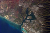 Astronaut photograph taken of Pearl Harbor.  Photo dated December 2009.  Double click on photo to enlarge several times.