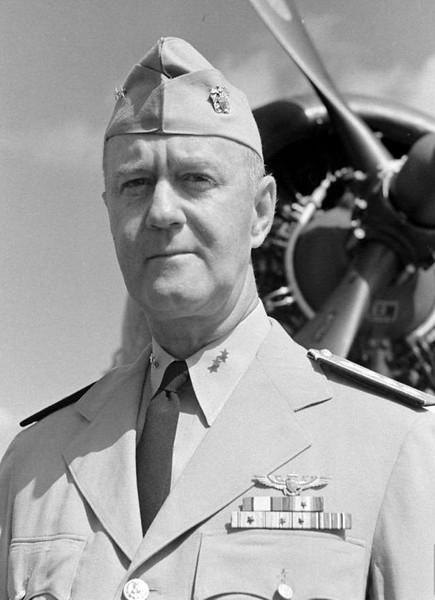 Rear Admiral Felix B. Stump - 1944 Photo