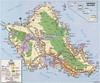 Map Of OAHU, HI