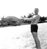 BELLOWS FIELD BEACH PARTY. - Tony Lupacchino CINCPACFLT.
