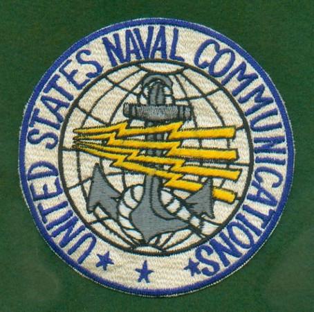 U.S. Naval Communications Patch.