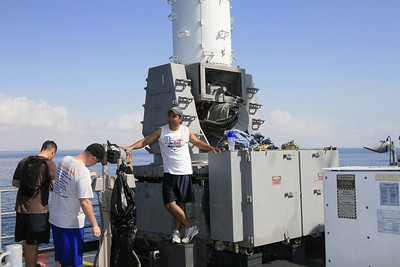 Freshwater Washdown USS Vela Gulf CG72
