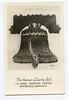 "USNTC BAINBRIDGE - ""The Human Liberty Bell"" Display.  1940's Photo."