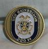 "USS BAINBRIDGE DDG 961 - Challenge Coins ""Competence, Dedication, Discipline"""