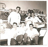 USNTC BAINBRIDGE Commissary Workers - 1950 Photo.