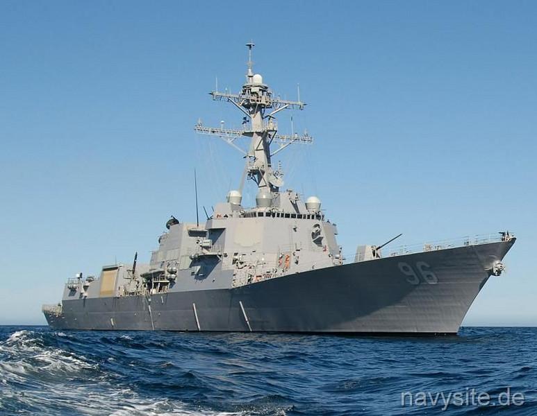 USS BAINBRIDGE - DDG 96.  (Arleigh Burke-class destroyer - DDG 96).