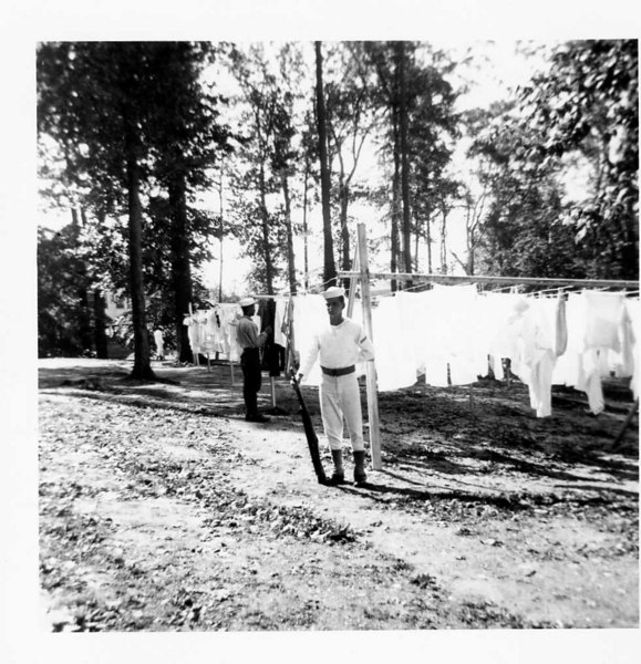 Boot Camp CO 359 - Reugerrie Co. 399 Standing Clothes Line Watch  (Others Unidentified) November 1955 (#194)