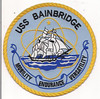 "USS BAINBRIDGE Patch - ""Mobility, Endurance, Versatility""."