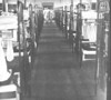 USNTC BAINBRDIGE Interior view of recruit barracks.  Photo dated 1954.