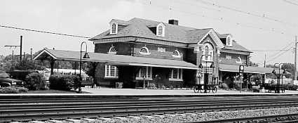 USNTC BAINBRIDGE MD - Perryville MD Broad Street Railroad Depot.