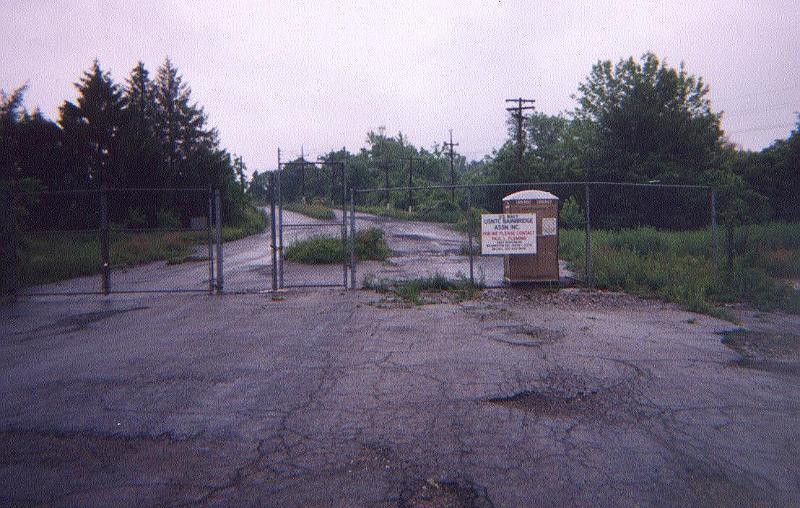 USNTC BAINBRIDGE - Main Gate (2000 Photo)