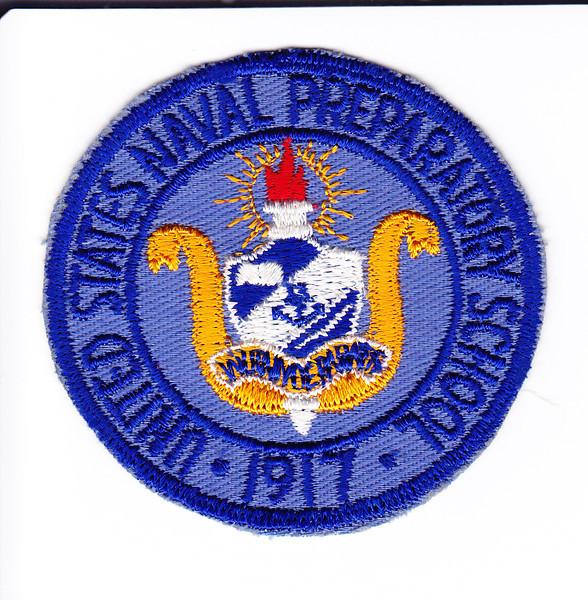 U.S. NAVAL PREPARATORY SCHOOL Patch - USNTC BAINBRIDGE