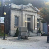 The Museum which was previously located in the same building as the SUSKY RIVER GRILLE, 600 Rowland Drive, Port Deposit, MD 21904, HAS MOVED downtown to a NEW LOCATION at the corner of South Main Street and Jacob Tome Highway and will open at 1 p.m. on April 6, 2013. <br /> <br /> 6 South Main Street, Cecil National Bank c. 1906<br />  <br /> This building was constructed of Port Deposit Granite, faced in limestone and served the community some 78 years. <br /> <br /> The Cecil National Bank merged with The First National Bank of Maryland in 1981. After Wiley Manufacturing closed, the town could no longer support a full service bank and The First National Bank of Maryland closed this branch in 1984. In 1986 they made a gift of the structure to the town.<br /> <br /> Port Deposit is an historic Maryland town, extending for about a mile along the east bank of the Susquehanna River.