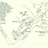 Naval Preparatory School - Tome Area - USNTC BAINBRIDGE.  Hand drawn with legend showing buildings in the Tome area.