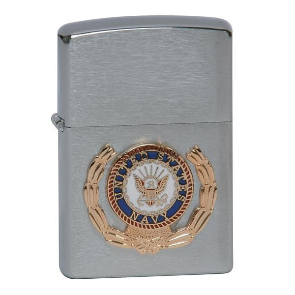 ZIPPO Lighter - Uploaded from the Inernet.  These are not a part of the USNTC BAINBRIDGE MUSEUM Collection.  <br /> <br /> I am including them as I have a thing for the ZIPPO lighter . . . I had a couple of them . . . either lost or misplaced them!