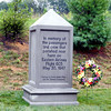 "Eastern Airlines Flight 605 Memorial Marker near Port Deposit MD<br /> <br /> ""In memory of the passengers and crew that perished near here on Eastern Airlines Flight 605, May 30, 1947""<br /> <br /> ""Courtesy of Jeanette Nesbitt Hillyer and The Stewart Corporation"""