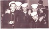 Left Bill Vezina (d. 4/30/08); Ken Brengard (d. 11/28/12); Danny Cronin;  Frank Cason; and Bob Almond right front (d. 12/25/09) Photo taken at Royal Navy Enlisted Men's Club Portsmouth UK (October 1960).  All Radioman ComServRon 4.<br /> <br /> <br /> Picked up from the Internet - - -<br /> <br />  ROBERT J. ALMOND Sr. <br /> <br />  News Death Notice<br /> <br />  ALMOND, Robert J., Sr. 67 of Lawrenceburg, IN passed Dec. 25 (2009). Service 2:30 p.m., Wed., Dec. 30, Avance Funeral Home & Crematory, Fairfield. .<br /> <br />  Published in The Middletown Journal on December 29, 2009<br /> <br />  Born - January 14, 1942 - Cincinnati, OH<br />  Death - December 25, 2009 - Lawrenceburg, IN<br /> <br />  Burial - Greenwood Cemetery<br />  Hamilton, Butler County, Ohio, USA<br /> <br />  Plot: Section 19 Lot 28 Space 2