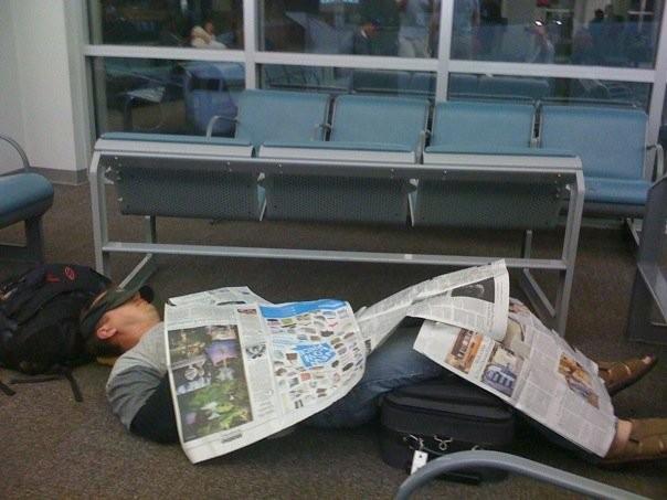 No Sleep til Airport
