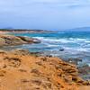 Sea view from the Cedar forest near Aliko Beach, Naxos
