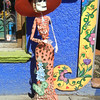 A Catrina Is Waiting On The Street For Someone To Take Her Home