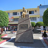 A Monument To Amado Nervo, A Famous Poet Born In Tepic