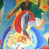 He Completed The Vibrant Murals In 1999