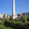 An Obelisk Monument In The Gardens Fronting The Palacio de Gobierno