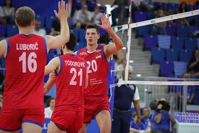 Argentina 3 - Serbia 0 Volley Nations League Men 2019 Allianz Cloud, Milano, 23/06/2019
