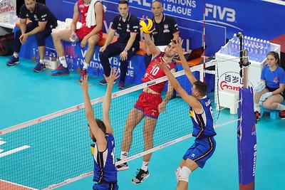 Poland 3 - Argentina 2 Volley Nation League Men 2019 Allianz Cloud, Milano, 21/06/2019