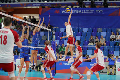 Poland 3 - Serbia 2 Volley Nations League Men 2019 Allianz Cloud, Milano, 22/06/2019