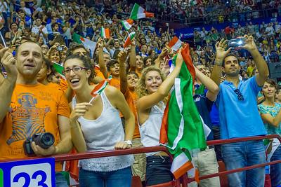 © Matteo Morotti #WorldLeague #Milanovolley2014 #Italia - #Brasile 1-3