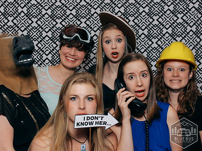 Snapping photos at the 2016 Senior Banquet Celebration! #beaconsforlife  Love this photo? Order prints and more at findmysnaps.com/ncu16.  Looking to have an awesome photo booth at your next event? Head to bluebuscreatives.com for more info!
