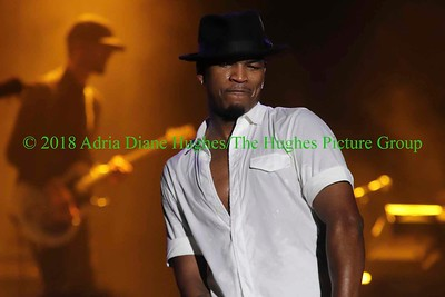 Ne-Yo performs live at the Dell Music Center
